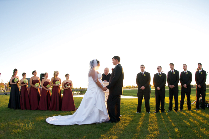 Reserve washington county fair park conference center for Outdoor wedding washington state