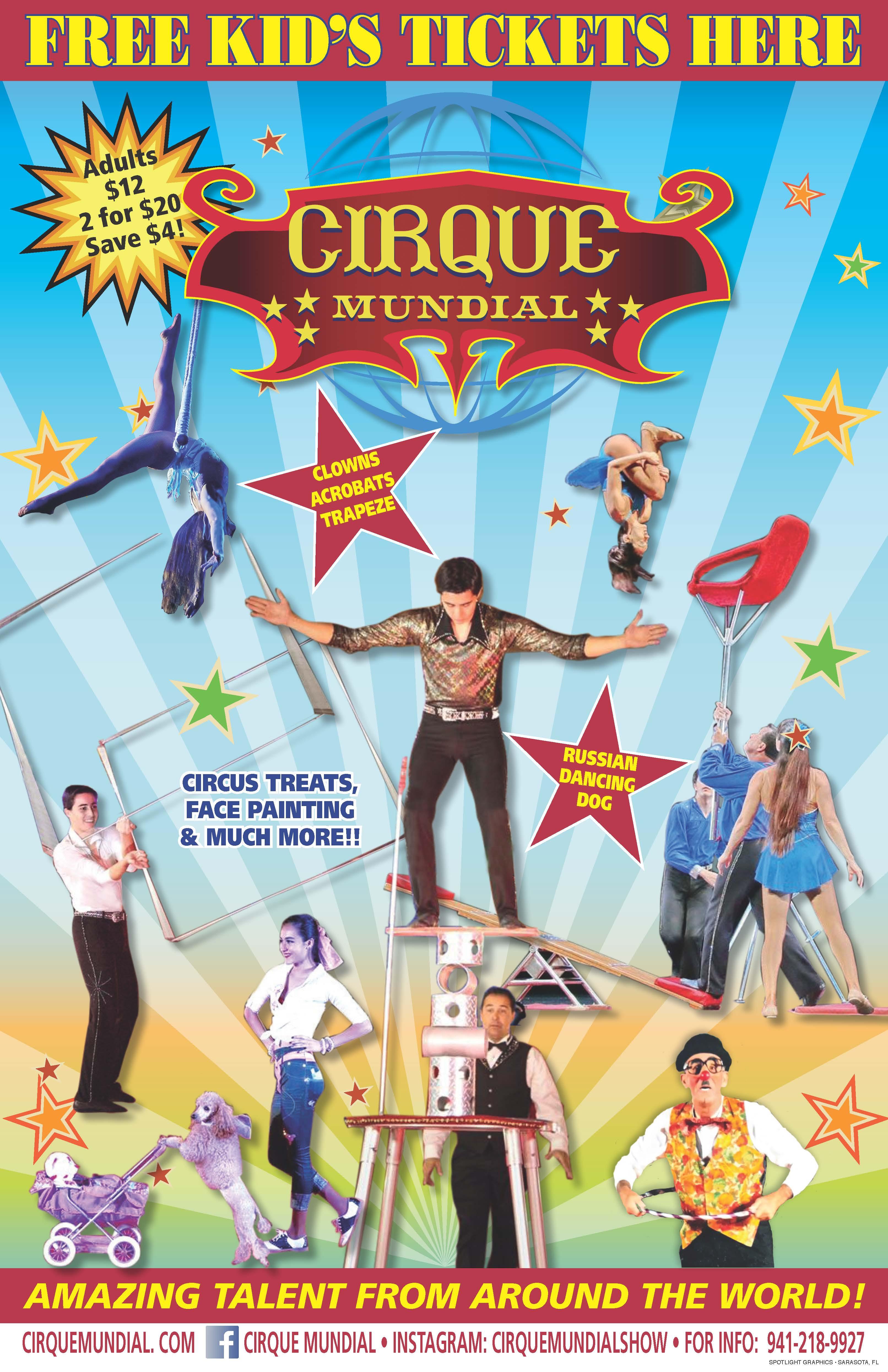 Cirque Mundial - Washington County Fair Park & Conference ...