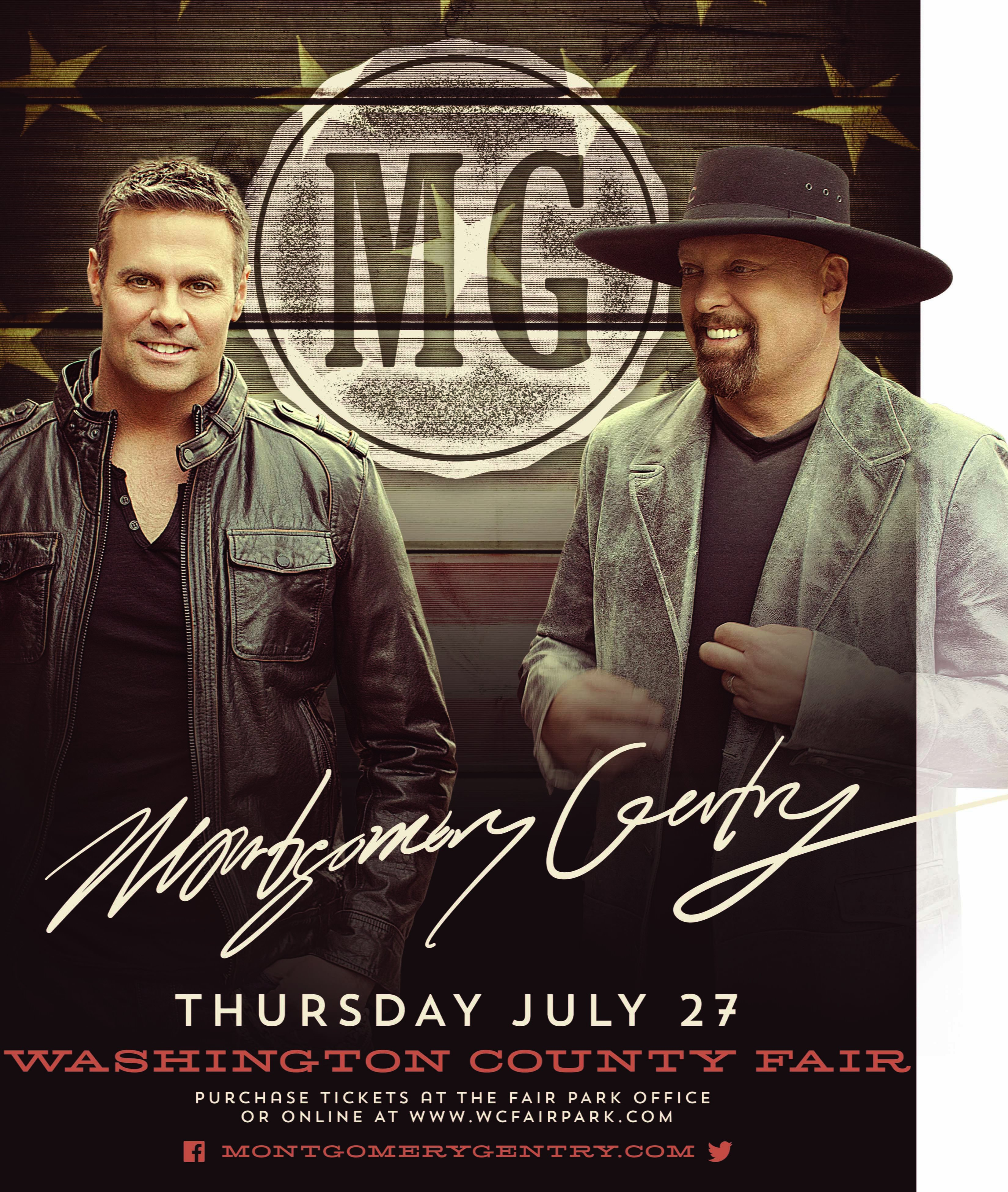 Montgomery County Fair 2020 Entertainment Concert.2017 National Entertainment Announcement Washington County