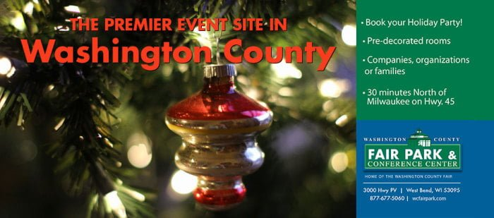 Book Your Holiday Party At The Washington County Fair Park & Conference Center